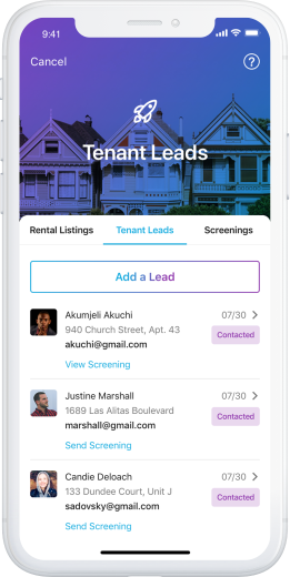 Tenant Leads